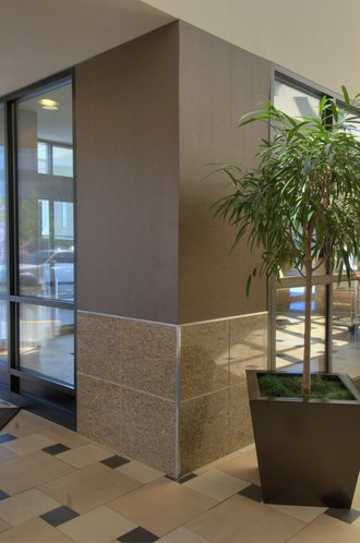 Stoneply Panels for Embassy Suites Interior Lobby