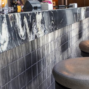Bar Top At Intercontinental Hotel in San Francisco