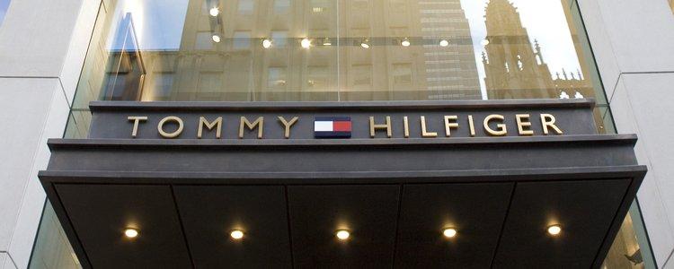 Tommy Hilfiger retail facade