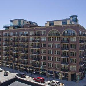 Roof Top View of River Renaissance Penthouse Suite