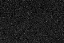 A solid dark black granite.