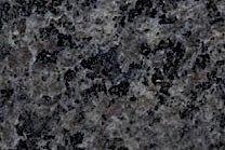 A medium grained, black granite.