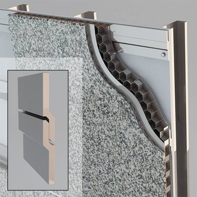 StonePly offers Z-clips for fast and easy installation of our panels. See our installation instructions here. Please read thoroughly before installing.